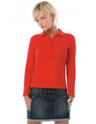 Ženska polo majica z dolgimi rokavi - Safran Pure LSL ženski