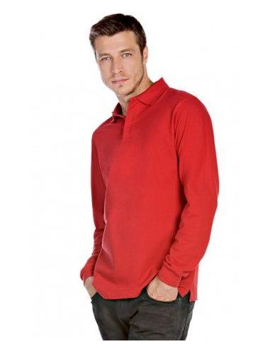Polo majica z dolgimi rokavi - HVYML LSL