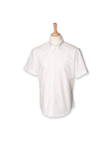 Moška oxford srajca s kratkimi rokavi H515