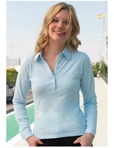 Ženska polo majica z dolgimi rokavi SK44