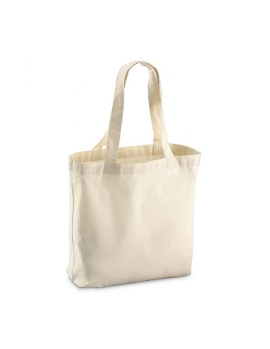 Organic nakupovalna vreča iz bombaža W180 črna