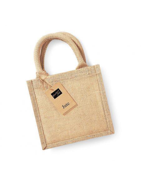 Mala darilna vreča iz jute W411