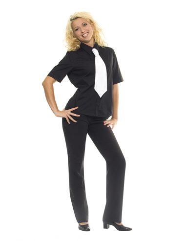 Klasična ženska srajca kratek rokav Basic BBF 2